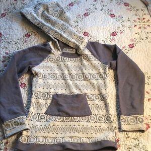 Girls jak & peppar hoodie